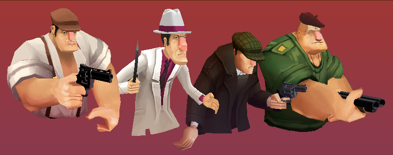Gangster Squad Tough Justice screenshot_3d_characters_profiles