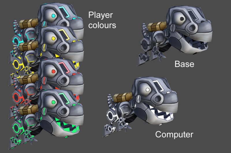 Robot-colours